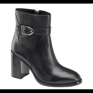 Johnston & Murphy Hope Heeled Bootie